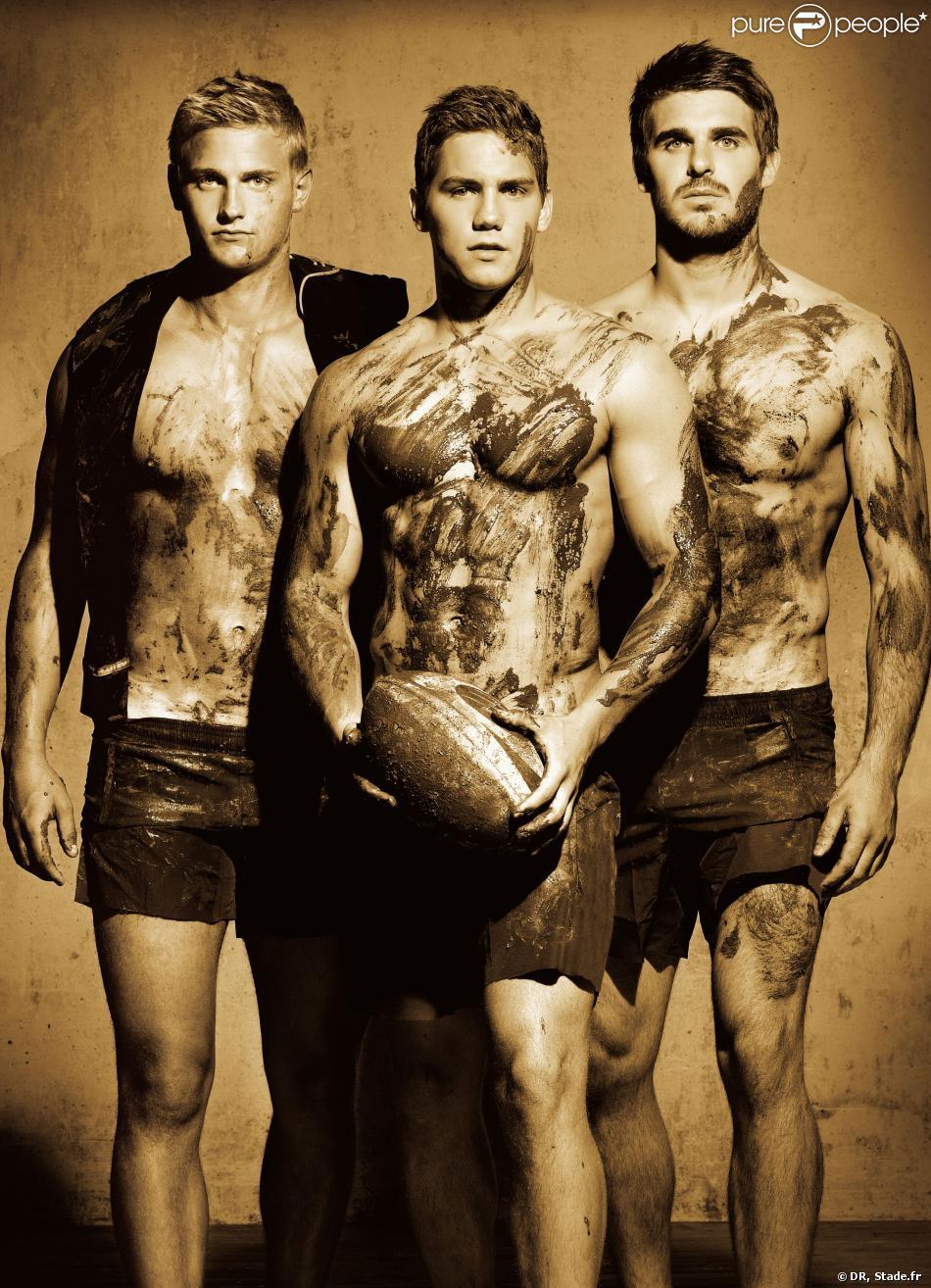 Calendrier Rugbyman Nu.Dieux Du Stade 2014 Sensualite Et Nudite Pour Le