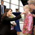 La princesse Marie de Danemark à l'Université de Flensburg le 11 octobre 2013 pour une cérémonie de remise de diplômes.