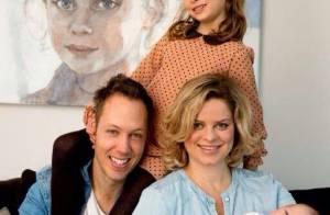 Kim Clijsters : Première photo de famille pour le petit Jack Leon !