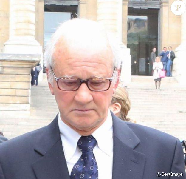 Le celebre kinesitherapeute francais Pierre Pallardy et sa femme Florence Pallardy, en compagnie de leur avocat Hervé Temime, arrivent aux assises dea Paris ou debute le proces opposant, pour agressions sexuelles et viols, le kine des stars Pierre Pallardy a 18 de ses patientes a Paris 01/10/201301/10/2013 - paris