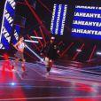 """Laurent Ournac et Denitsa Ikonomova - Quatrième prime de """"Danse avec les stars 4"""" sur TF1. Le 19 octobre 2013."""