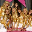 Alessandra Ambrosio avec ses coipines de Victoria's Secret