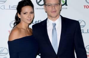 Matt Damon : Amoureux radieux et honoré face à la sexy Hayden Panettiere