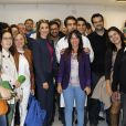 Letizia d'Espagne visite un centre de formation professionnelle à Huesca, le 15 octobre 2013