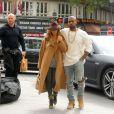 Kim Kardashian et Kanye West quittent Paris pour un aller-retour à Londres