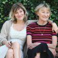 Marisa Bruni-Tedeschi et sa fille Valeria Bruni-Tedeschi à Rome le 22 octobre 2013.