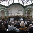 La vente de la collection Yves Saint Laurent-Pierre Bergé par Christie's au Grand Palais, à Paris février 2009.