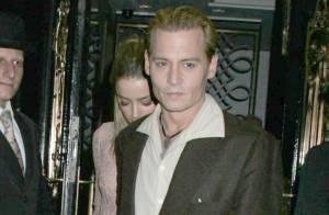 Johnny Depp : Son nouveau look blond avec son amoureuse, Amber Heard