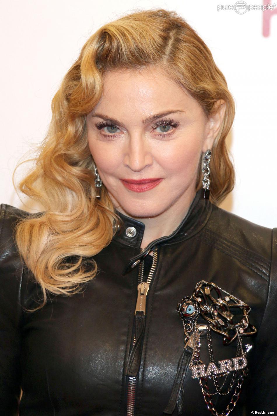 Madonna à Berlin, le 17 octobre 2013.