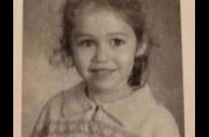 Saurez-vous reconnaître cette adorable fillette, future reine de la provoc' ?