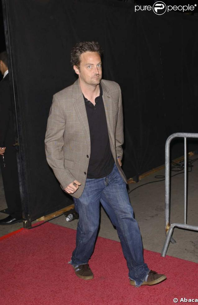 Matthew Perry, pas au top