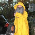 Sandra Bullock et son fils Louis fêtent  Halloween 2013