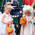 Les filles de Sarah Jessica Parker, Marion et Tabitha pour  Halloween 2013