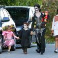 Camila Alves avec ses trois enfants Levi, Vida et Livingston pour  Halloween 2013