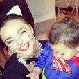 Miranda Kerr et son petit Flynn pour Halloween 2013