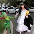Gwen Stefani et son fils Kingston pour  Halloween 2013
