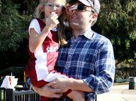 Ben Affleck : Papa poule stylé, très complice avec Violet