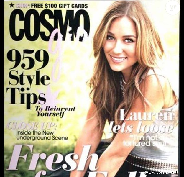 Lauren Conrad pour Cosmo Girl