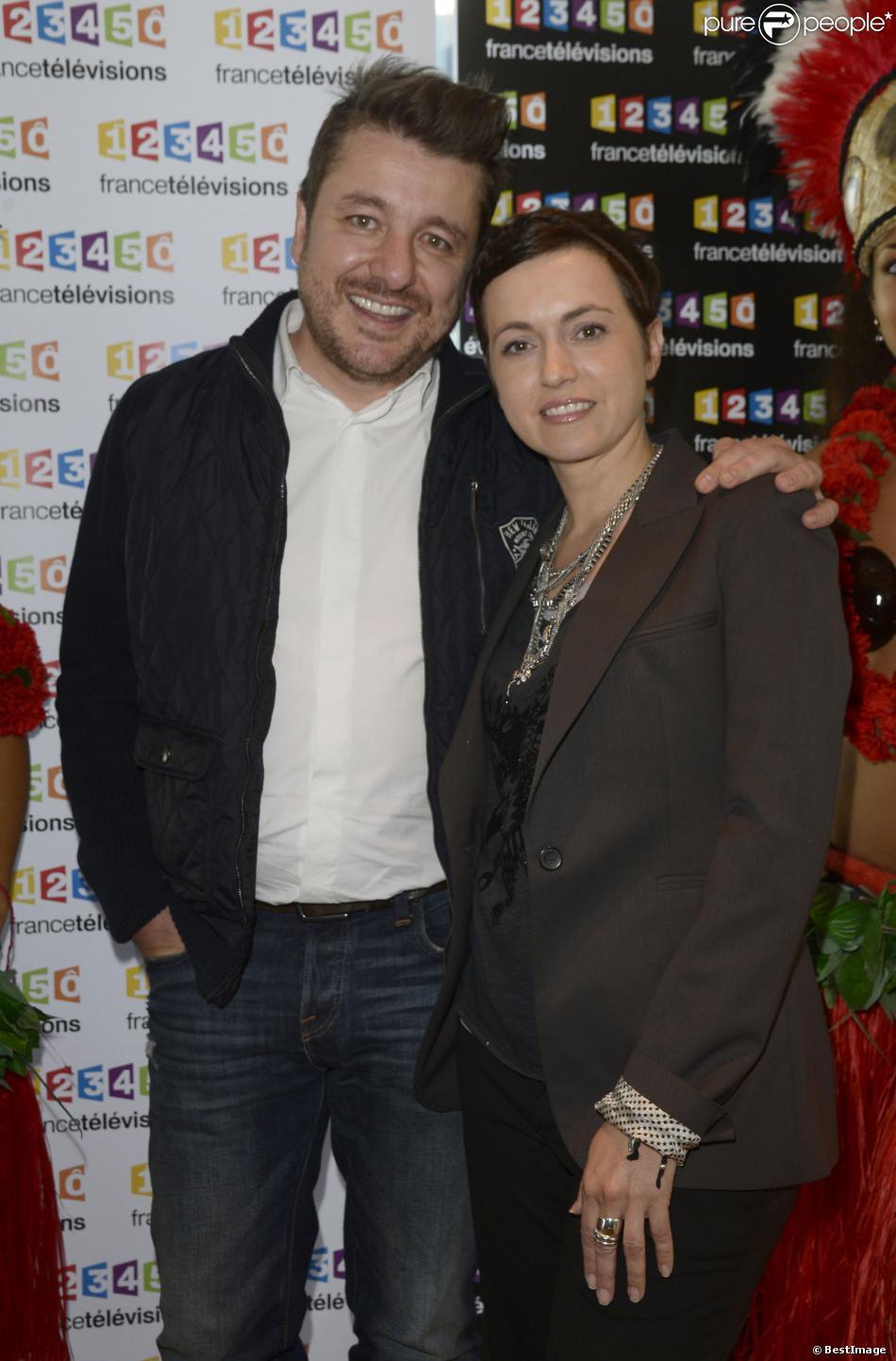 Bruno guillon et sophie jovillard conf rence de presse du t l thon 2013 chez france - Sophie jovillard et son mari ...
