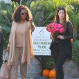 Exclusif - Maria Shriver fête son 58eme anniversaire avec ses filles Katherine Schwarzenegger et Christina Schwarzenegger, et d'Oprah Winfrey au restaurant Geoffrey's à Malibu, le 6 novembre 2013.