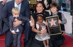 Mariska Hargitay : Larmes de bonheur devant ses trois enfants et son mari