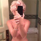 Carine Roitfeld : Une Marilyn Monroe sexy pour un dîner en tête à tête