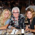 Fiona Gélin, Marc Cerrone et sa femme