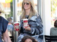 Heidi Klum : Tête-à-tête stylé avec son adorable Lou