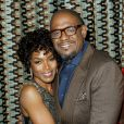 Angela Bassett et Forest Whitaker à l'after-party de Black Nativity au Red Rooster Harlem, New York, le 18 novembre 2013.