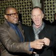 Forest Whitaker et Sting à l'after-party de Black Nativity au Red Rooster Harlem, New York, le 18 novembre 2013.