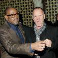 Forest Whitaker et Sting à l'after-party de Black Nativity au Red Rooster Harlem, New York, le 18 novembre 2013.