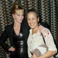Melanie Griffith et Gina Belafonte à l'after-party de Black Nativity au Red Rooster Harlem, New York, le 18 novembre 2013.