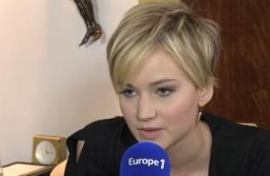 Jennifer Lawrence : 'J'aime beaucoup Omar Sy et je suis fan de Marion Cotillard'