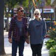 Exclusif - Gwen Stefani et son mari Gavin Rossdale, surpris dans le quartier de Studio City. Los Angeles, le 18 novembre 2013.
