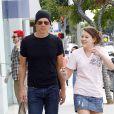 EXCLUSIF - Kevin Bacon et sa fille Sosie à Santa Monica le 4 mars 2007.
