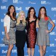 Julia Roberts, Abigail Breslin, Juliette Lewis et Julianne Nicholson lors du photocall du film Un été à Osage le 10 septembre 2013 au festival de Toronto