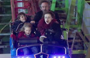 Tim Burton et Helena Bonham Carter : Heureux, ils s'éclatent avec leurs enfants