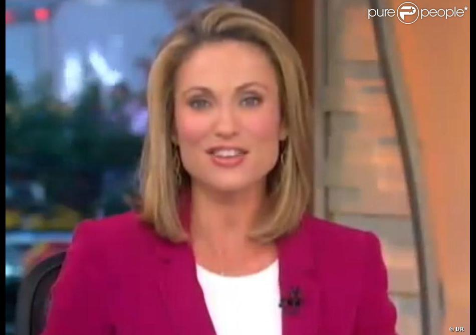 La présentatrice star Amy Robach a découvert être atteinte d'un cancer du sein après un reportage sur la maladie effectué fin octobre 2013 pour la chaîne ABC News.