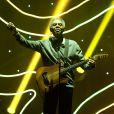 Gilberto Gil chante lors de la cérémonie des Grands Prix Sacem 2013, le 25 novembre 2013 à l'Olympia de Paris.