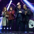 Zaz et Liane Foly ont repris avec Serge Lama, entouré de tous les lauréats, le refrain de  D'aventures en aventures  en clôture de la cérémonie des Grands Prix Sacem 2013, le 25 novembre 2013 à l'Olympia de Paris.