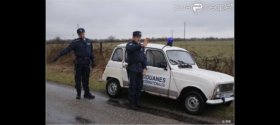 Le film Rien à déclarer avec la fameuse Renault 4L