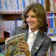 """""""Caroline Kennedy, nouvelle ambassadrice des Etats-Unis au Japon, dans une école à Ishinomaki, le 25 novembre 2013."""""""