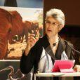 Exclusif - Yolanda Kakabadze Navarroau 40e anniversaire du WWF au Museum national d'Histoire Naturelle à Paris le 27 novembre 2013.