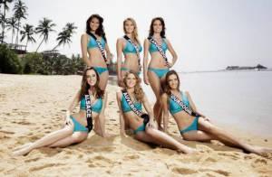 Miss France 2014 : Photos officielles des 33 Miss en bikini sur la plage !