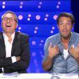 Nicolas Bedos fait sa chronique dans On n'est pas couché sur France 2, le samedi 30 novembre 2013.
