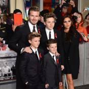 David et Victoria Beckham : Fiers en famille pour une soirée foot