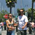 Exclusif - Paul Walker et sa compagne Jasmine Pilchard-Gosnell à Santa Barbara le 28 mai 2011.