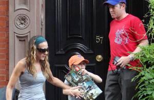 PHOTOS : Sarah Jessica Parker, une maman fomidable !