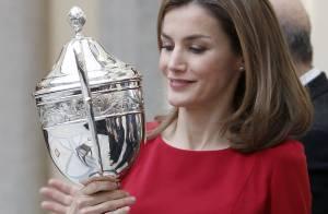 Letizia d'Espagne : Sublime avec Felipe, Sofia et Elena face aux héros du sport