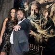 Peter Jackson et sa fille Katie Jackson lors de l'avant-première du film Le Hobbit : La désolation de Smaug, à Los Angeles le 2 décembre 2013